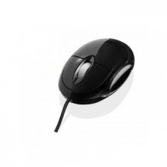 Mouse optic I-BOX SWAN, USB, negru