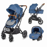 Carucior 3 in 1 ultracompact Coccolle Ravello Navy Blue