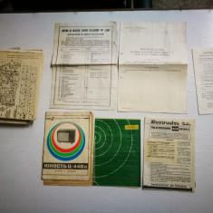 Instructiuni utilizare Televizoare romanesti vechi. Manual utilizare,scheme.