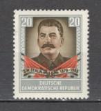 D.D.R.1954 1 an moarte I.V.Stalin  MD.33