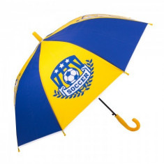 Umbrela pentru baieti, automata Soccer League 80 cm Multicolor