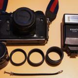 Aparat foto ZENIT TTL cu accesorii