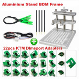 Stand BDM aluminiu + full set 22 adapters KTAG BDM KTM Dimsport