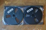 AKAI 18cm-Black  original -Set banda magnetofon-ptr GX77
