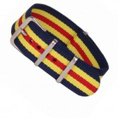 Curea NATO Material Textil Rom 18mm 20mm 22mm