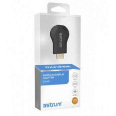 Adaptor Wifi HDMI TVChast (Miracast / DNLA / Airplay / Screen Mirroring) Astrum DA490