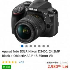 DSLR Nikon D3400