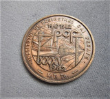 Medalie Institutul de proiectari cai ferate 1982