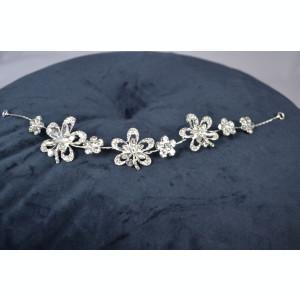 Diadema model Floare cu pietricele