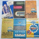 Mersul autobuzelor - Lot 6 bucati (1970-1982)