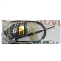 Kit reparatie Mecanism ridicare geam fata Skoda Fabia 1 fata dreapta electrica 2000-2007 (cablu role si suport geam) Kft Auto foto