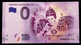 Portugalia 0 Euro Souvenir 2018 Centro Helen Keller Lisboa UNC necirculata  **