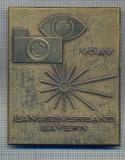 AX 15 -MEDALIE -PLACHETA -ASOCIATII SPORTURI MONTANE -GERMANIA -LANDESVERBAND, Europa