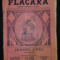 BANU C. (Director), FLACARA (Literara, Artistica si Sociala), Anul IV, Numarul 40, 1915, Bucuresti