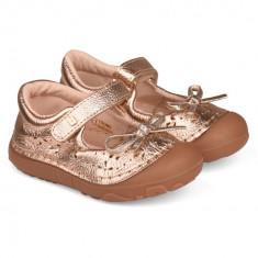 Pantofi Fete Bibi Grow Aurii 20 EU