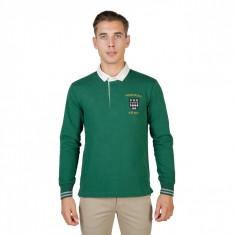 Tricou polo barbati Oxford University model MAGDALEN-POLO-ML, culoare Verde, marime XL