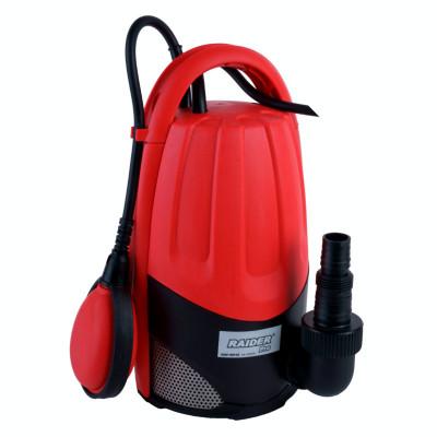 Pompa de apa submersibila pentru apa murdara Raider, 900 W, 2900 rpm, 9.5 m, 15000 l/h foto