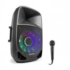 Fenton FT1500A, boxă activă, 350 W, bluetooth + microfon, negru