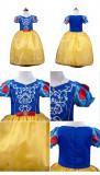 Alba ca Zapada rochie rochita NOUA 6,7 ani