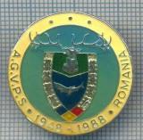 AX 157 INSIGNA VANATOARE SI PESCUIT SPORTIV PERIOADA RSR -A.G.V.P.S -1948-1988