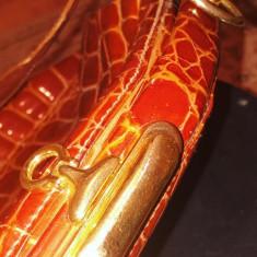 Geanta piele crocodil