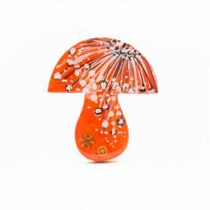 Brosa LEMN Ciuperca colorata