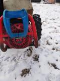 Motocultivator BCS cu grup de cosit + freză de pământ