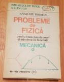 Probleme de fizica pentru liceei. Mecanica de Anatolie Hristev