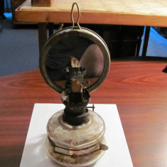 PVM - Lampa rustica gaz perioada comunista Romania completa dar lipsa sticla