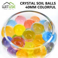 Bilute decorative gel isi maresc volumul in apa, water beeds 100 buc 3cm