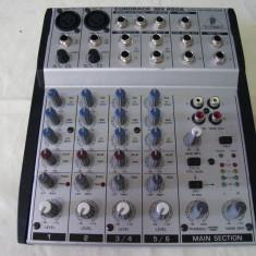 Mixer audio BEHRINGER EURORACK MX602A