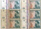 Lot 13 x  Bancnote 500 lei Brancusi 1000 Lei Eminescu Romania anii' 90