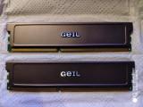 Cumpara ieftin Kit memorie GEIL 2x2GB DDR3-1333, DDR 3, 4 GB, Dual channel