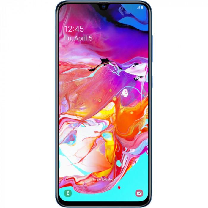 Galaxy A70 Dual Sim 128GB LTE 4G Albastru 8GB RAM
