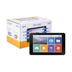 Resigilat : Sistem de navigatie GPS PNI T500 ecran 5 inch, 800 MHz, 256M DDR3, 8GB