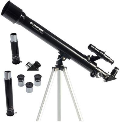 Telescop Celestron Powerseeker 50AZ, 150X, refractor, lentila 50mm, obiectiv Barlow foto