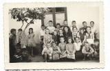 D910 Elevi romani scoala cravata pionier Romania comunista