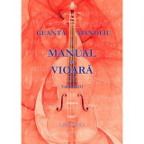 Manual de vioara vol. III | Ionel Geanta, George Manoliu