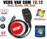 VAG COM VCDS 12.12 HEX CAN FULL ACTIVAT pt. grupul VAG PACHET COMPLET !
