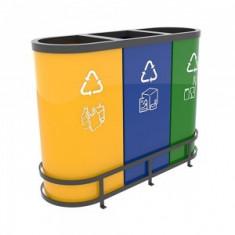 MALMO B Best-seller set cosuri de reciclare din metal ultra rezistent