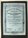 Titlu De Stat Obligatiune Germania-1941-1000-Reichsmark