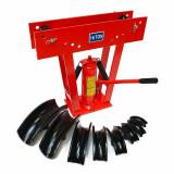 Cumpara ieftin Stand hidraulic pentru indoit tevi Dema DEMA24368, 16 tone, 9 piese
