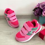 Cumpara ieftin Adidasi colorati roz verzi usori cu scai pt fetite 26, Fete