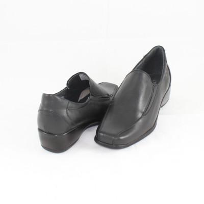 Pantofi casual dama piele naturala - Nicolis negru - 17860-Negru-38 foto