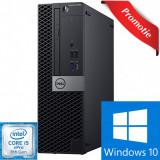 Cumpara ieftin CALCULATOR Refurbished DELL OPTIPLEX 7060 SFF, INTEL CORE I5 GEN 8 8500 3.0 GHZ, 8 GB DDR4, 256 GB SSD M.2, Win 10 PRO