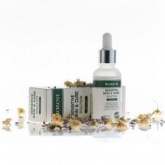 Elixir pt. piele sensibila cu geranium, apa de musetel si acid hialuronic,...