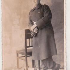 Bnk foto - Poza  interbelica - militar, Alb-Negru, Romania 1900 - 1950