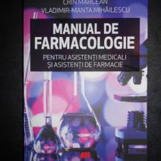 CRIN MARCEAN, VLADIMIR-MANTA MIHAILESCU - MANUAL DE FARMACOLOGIE (2018)