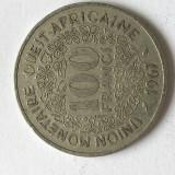 P725 AFRICA EST 100 FRANCI 1967