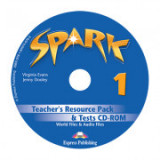 Curs limba engleza Spark 1 Monstertrackers Material aditional pentru profesor si teste CD - Virginia Evans, Jenny Dooley